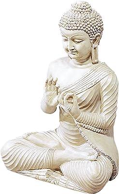 Plutus Brands Polystone Spot Eye-Catching and Influencing Buddha Figurine