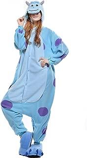 Halloween Unisex Adult Sullivan Pajamas Cosplay Costumes