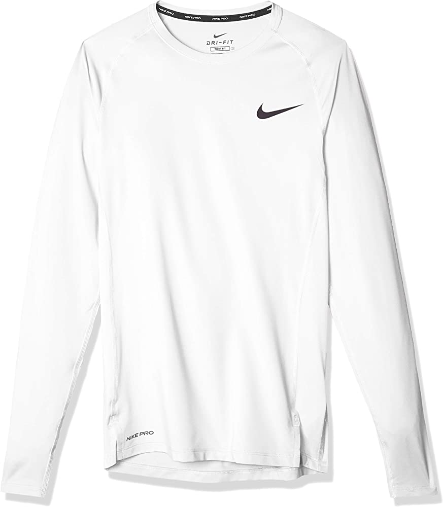 Nike pro, maglia a maniche lunghe per uomo,92% poliestere, 8% elastan BV5588