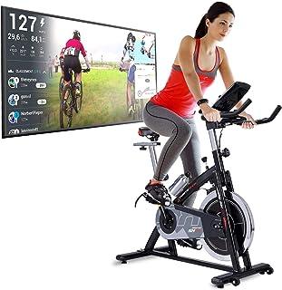 comprar comparacion Sportstech Bicicleta Estática | Bicicleta Fitness con Volante de 22 kg - Eventos en Video & App Multijugador, Incl. eBook ...