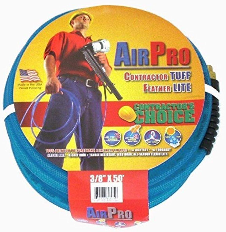 AirPro PUR-38X50-B 3/8-Inch x 50 Foot Polyurethane 250 PSI Air H