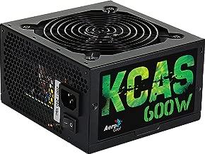 Aerocool KCAS S, fuente de alimentación 600W, 80Plus Bronze, 85%, PFC Activo