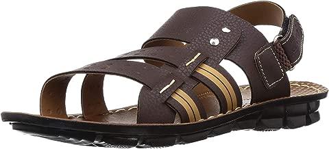 Paragon Men's Brown Formal Sandals-8 UK/India (42 EU)(PU8896G)