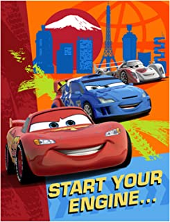 Disney Cars Invitations - 8/Pkg.