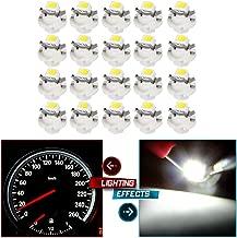 SCITOO 20 Pcs B8.4D Neo Wedge Halogen Light Bulbs Instrument Gauge Cluster Light Bulbs for A/C Climate Control Light