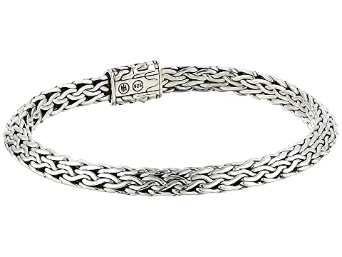 John Hardy 6.4 mm Classic Chain Tiga Chain Bracelet with Pusher Clasp