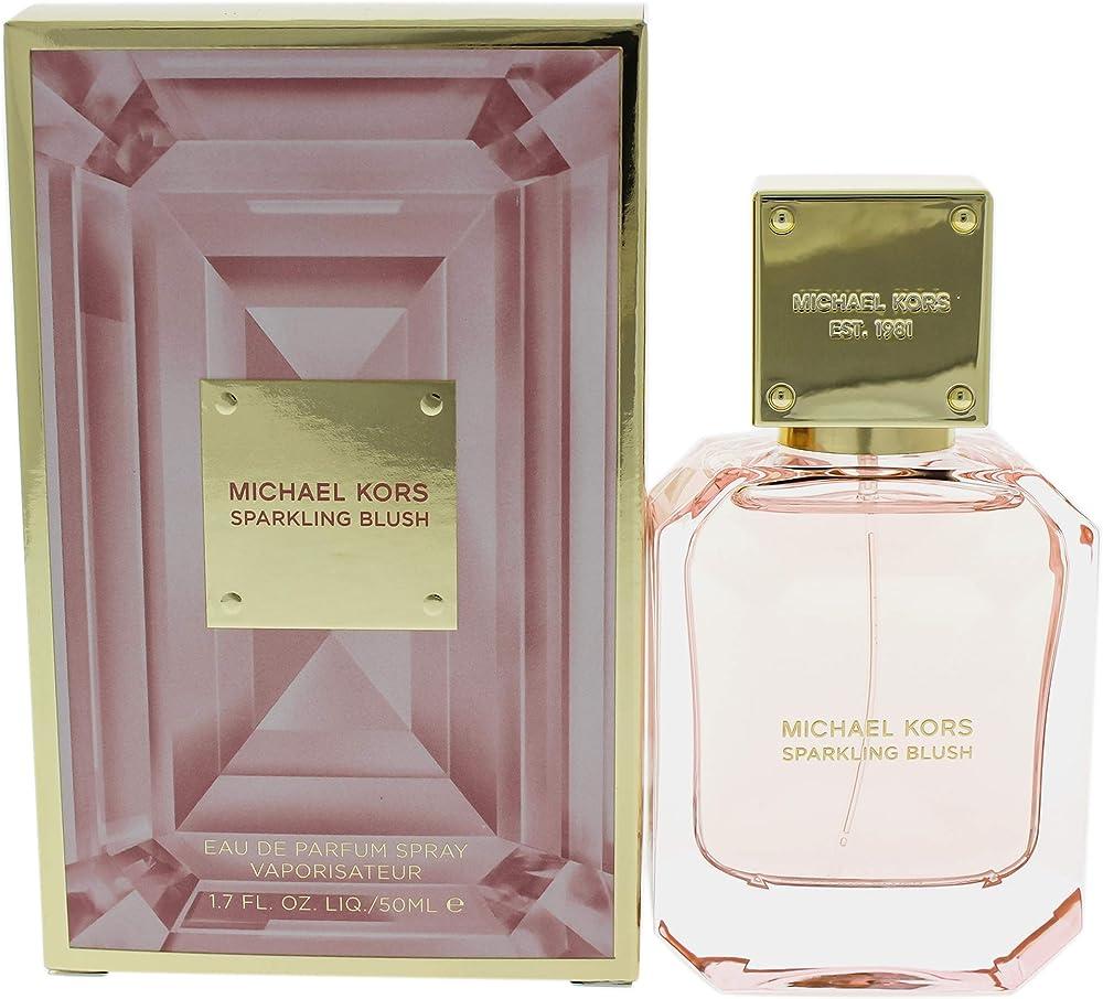 Michael kors sparkling blush eau de parfum profumo per donna 50 ml ?0022548399033