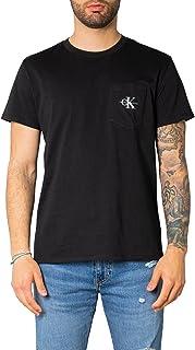 Calvin Klein Men's MONOGRAM POCKET T-Shirt