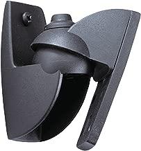 Vogel's Speaker Wall Mount, Satellite Universal Fit - VLB series, VLB500B Set of 2 Wall Mounts, max 11 lbs, Black