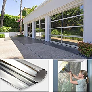 Sugo Premium One Way Mirror Privacy Reflection Window Tint Film Save Energy 35% VLT (3X6 Feet)