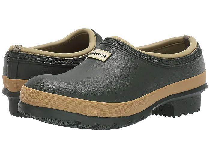 Hunter  Garden Clog (Vintage Green) Womens Clog/Mule Shoes