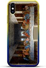 LAST SUPPER PAINTING | Luxendary Gradient Series Clear Ultra Thin Silicone Case for iPhone Xs/X (5.8