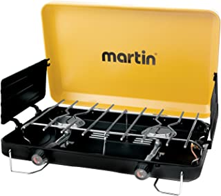 Martin 2 Burner Propane Stove Grill Gas 20000 Btu Outdoor Portable Burner CSA Certified