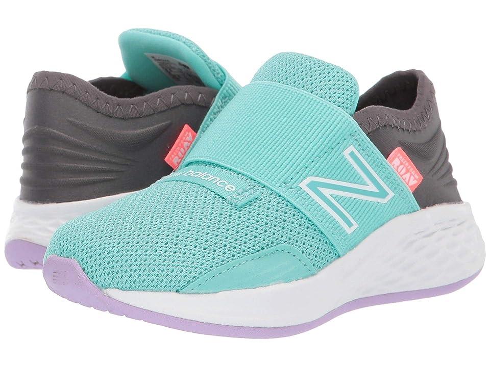 New Balance Kids Fresh Foam Roav (Infant/Toddler) (Light Tidepool/Magnet) Girls Shoes