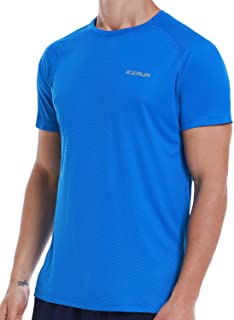 Men`s Dry Fit Moisture Wicking Athletic T-Shirt Short Sleeve Workout Running Shirts for Men
