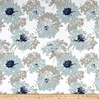 Premier Prints Fairy Spa Blue Fabric by The Yard