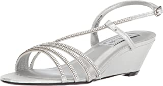 Touch Ups Womens Celeste Silver Size: 6.5