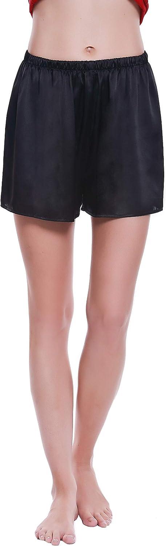 LEPTON 19mm 100% Ranking TOP3 Premuim Mulberry Shorts- quality warranty Silk Sho Pajama Womens