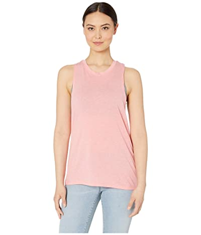 New Balance Heathertech Train Tank Top (Guava Glo Heather) Women