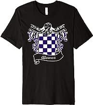 Alvarez Coat of Arms surname last name family crest Premium T-Shirt