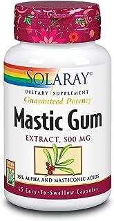 Solaray Mastic Gum Extract, 500 mg, 45 Count