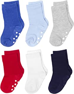Silky Toes Non-Skid Infant Socks Multi Colored Baby Boy Girl Gift Set