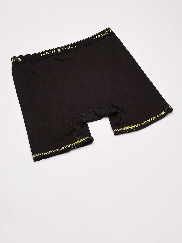 Hanes Men's Cool Comfort Breathable Mesh Boxer Brief Asst Color
