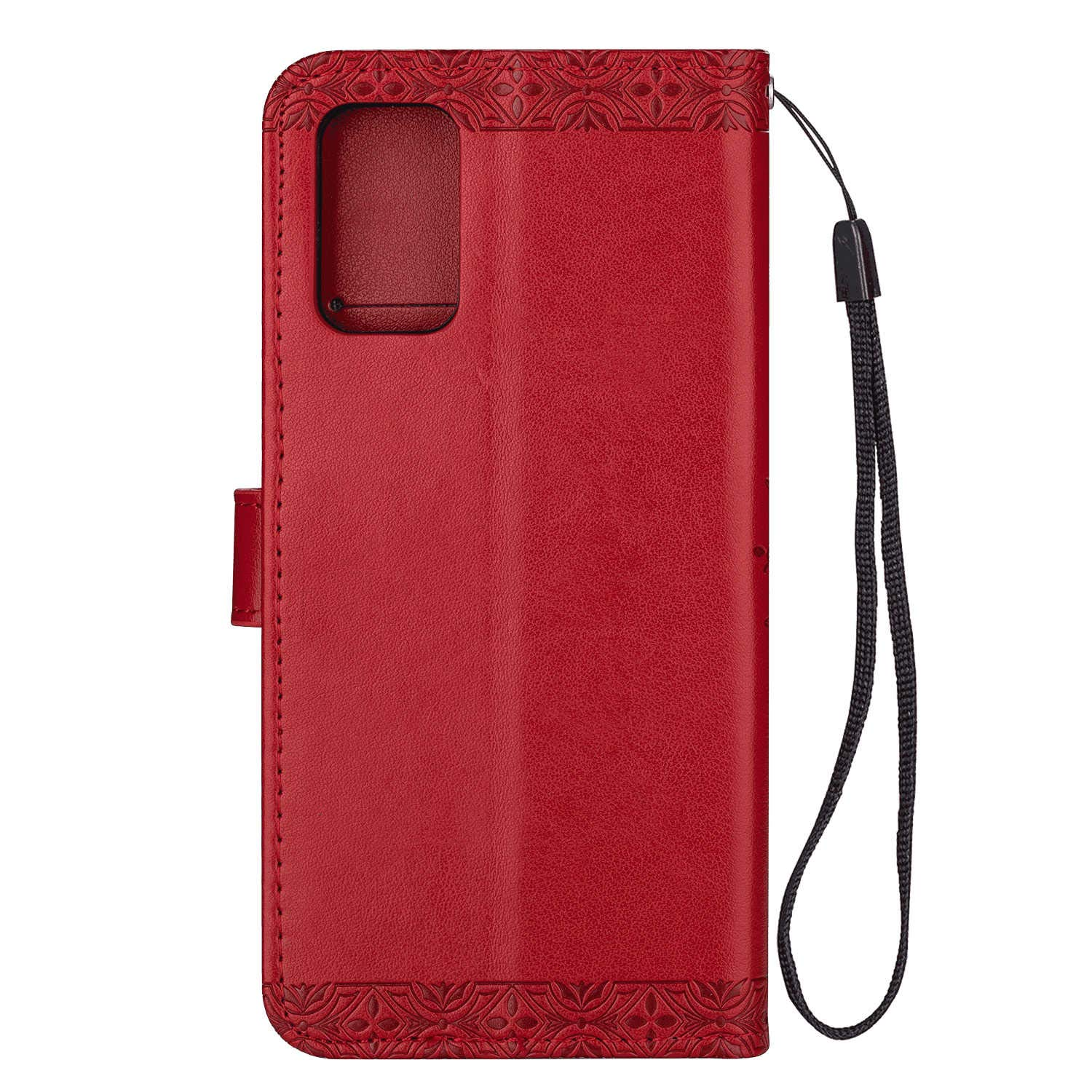 Leather Flip Case Fit for Samsung Galaxy S20 Plus Extra-Shockproof Kickstand Card Holders Wallet Cover for Samsung Galaxy S20 Plus