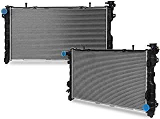 STAYCO CU2795 32mm Core Radiator Compatible with Dodge Town Country Voyager Caravan 3.3L 3.8L