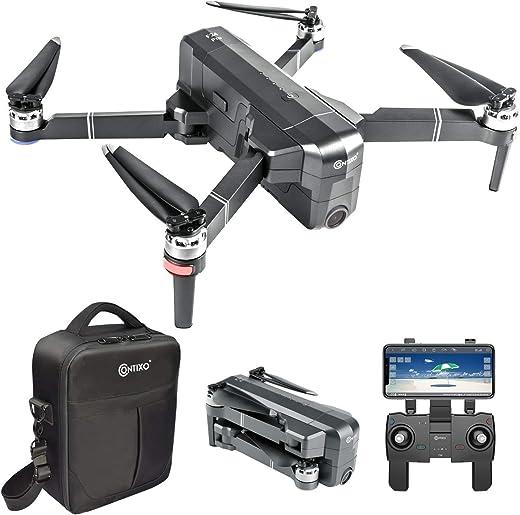 Contixo F24 Pro Foldable Drone 4K Quadcopter HD Live Video GPS Drones...