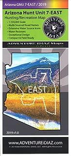 Arizona Hunt Unit 7-EAST Hunting/Recreation Map