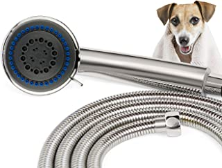 SmarterFresh Pet Faucet Sprayer Set, Pet Bath Spray Dog Shower for Home Dog Washing Station - Hand Shower Spray Faucet Attachment with Hose (for Sink Faucets Only)