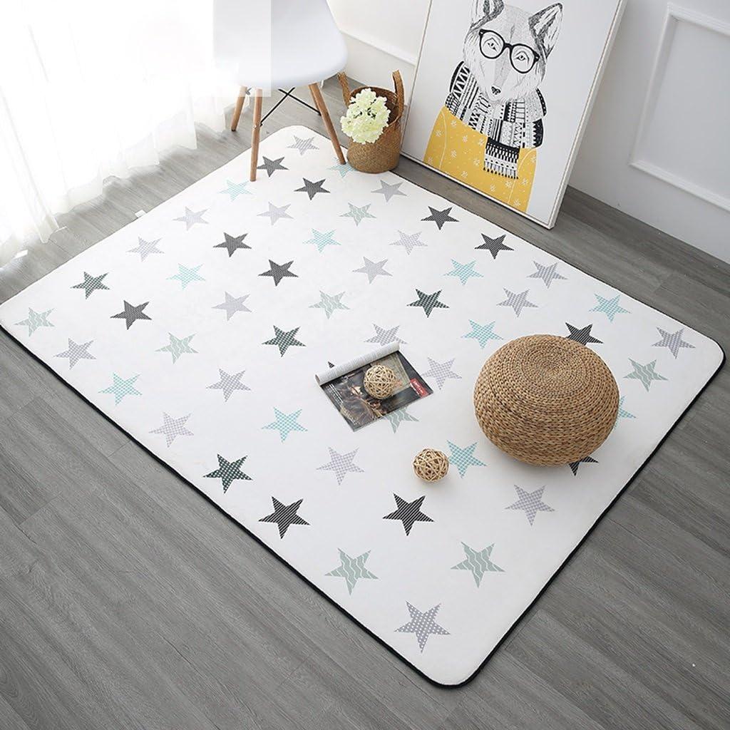 XinYuan Modern Rectangular Digital Creative Our shop most popular Velvet Snow Carpet Credence