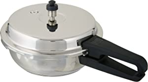 Butterfly Blue Line Wider Stainless Steel Pressure Pan-Pressure Cooker, 4.5-Liter