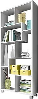 SelectionHome Estantería Multiposición Librería para Salón o Oficina Modelo Deluxe Color Blanco Mate Medidas: 685 cm ...