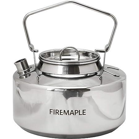 Fire-Maple ANTARCTI ステンレスケトル 【日本正規品】3年長期保証 焚火 直火可