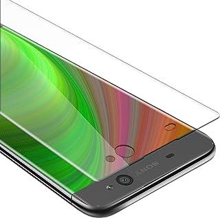 Cadorabo Pelíula Protectora para Sony Xperia XA en Transparencia ELEVADA - Vidrio Templado (Tempered) Cristal Antibalas Compatible 3D con Dureza 9H