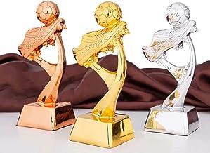 Plastic Winnaars Trofeeën - Mini Resin Football Trophy Plating Soccer Match Award Toy School Sports Competition Champion