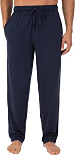 Men's Extended Sizes Jersey Knit Sleep Pant (1 & 2 Packs)