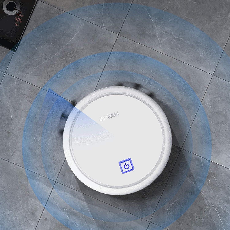 Galapare Robot Aspirador Aspirador Succi/ón Fuerte Evite obst/áculos Limpieza de Piso de casa de bajo Ruido para Suelos Duros y Alfombras