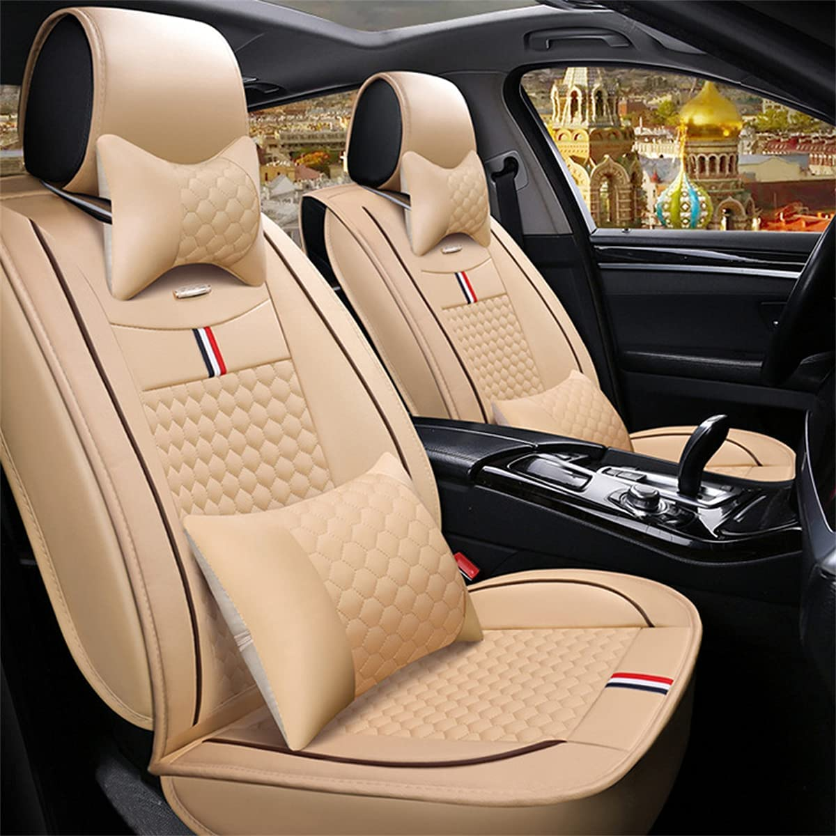 Special Campaign Car Seat Covers fit for Ford 2 Front Seats High order Victoria Crown C