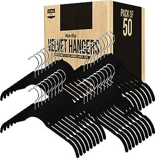 Utopia Home 150-Pack Shirt Hangers Non Slip Velvet Hangers - Black