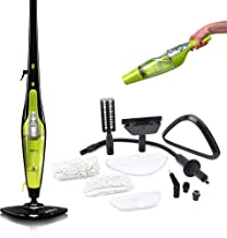 H2O HD Steam Mop - 5 in 1 Steam Cleaner - Kills 99.9% of Bacteria Without Cleaning Chemicals