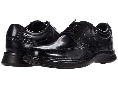 Clarks Kempton Lace (Black Leather) Men