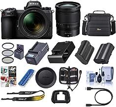 Nikon Z6 FX-Format Mirrorless Camera with NIKKOR Z 24-70mm f/4 S Lens - Nikon Mount Adapter FTZ - Bundle with Camera Case+...