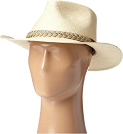 Panama Outback Hat with Braided Jute Band