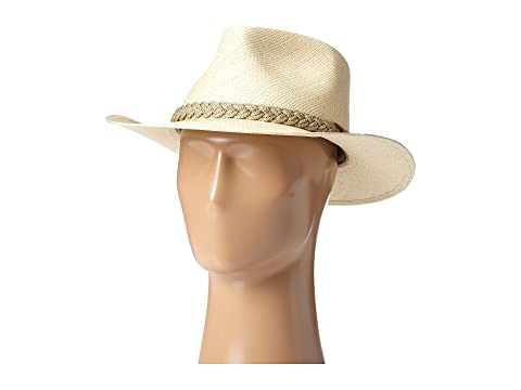 7d7dd6e652f SCALA Panama Outback Hat with Braided Jute Band at Zappos.com