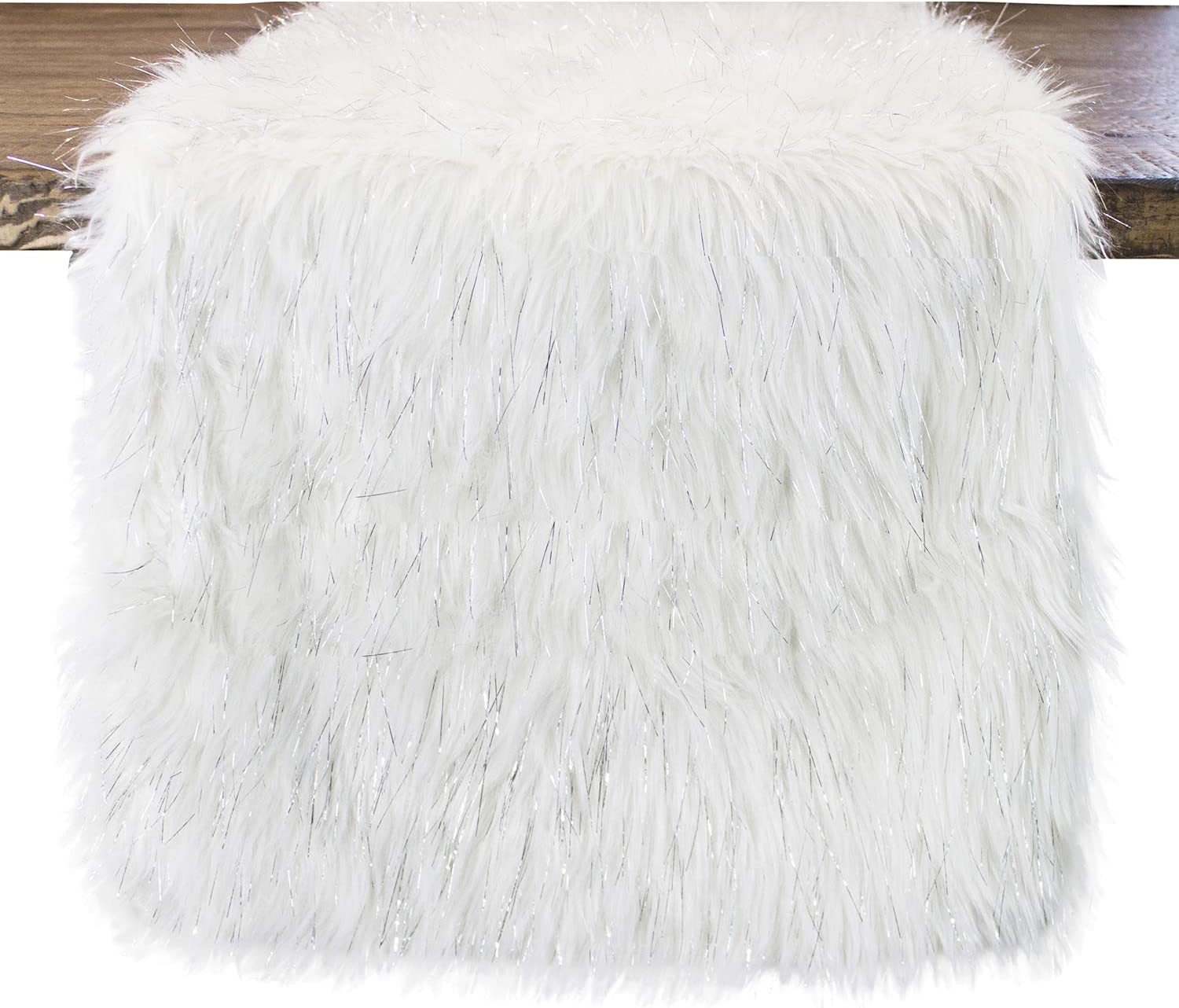 Fennco Styles Holiday wholesale Christmas White Exquisite Decorative Recommended Faux