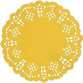 Darice Yellow Paper Doilies, 50 Piece