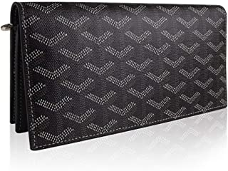 Stylesty Genuine Leather Long Wallet for Women, Bifold Large Capacity Long Purse